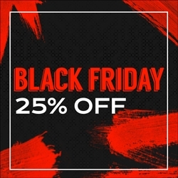 Black Friday 15% OFF
