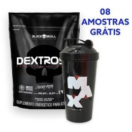 Dextrose Black Skull + Coqueteleira max Titanium