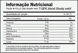 T_SEK 120g - Termogenico - Power Supplements